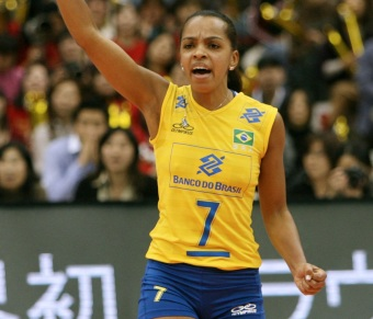 10 de Março - Fofão, atleta, voleibol, brasileira.