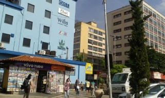 17 de Julho - Vista parcial do bairro Vila Santa Cecília — Volta Redonda (RJ) — 63 Anos em 2017.