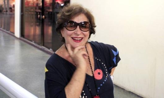 2 de Abril - 2016 — Tereza Rachel, atriz e produtora brasileira de peças teatrais