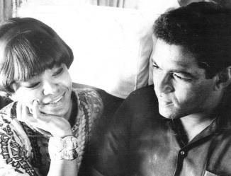 23 de Junho - Elza Soares e Garrincha no ônibus.