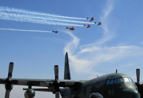 6 de Agosto – Exibição de voo — Pirassununga (SP) — 194 Anos em 2017.
