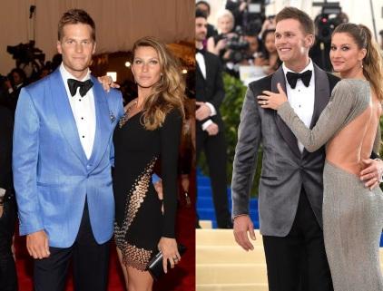 3 de Agosto – Tom Brady - 1977 – 40 Anos em 2017 - Acontecimentos do Dia - Foto 8 - Com sua esposa, Gisele Bundchen.