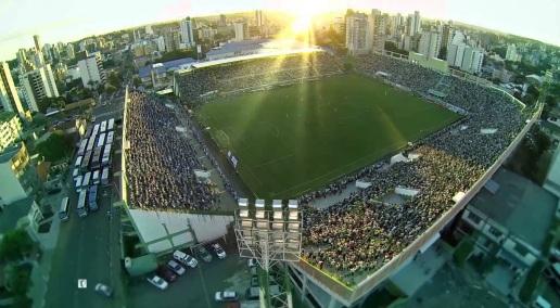 25 de Agosto — Arena Condá, palco das partidas do Chapecoense — Chapecó (SC) — 100 Anos em 2017.