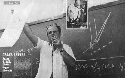 11 de Julho – César Lattes em matéria de revista.