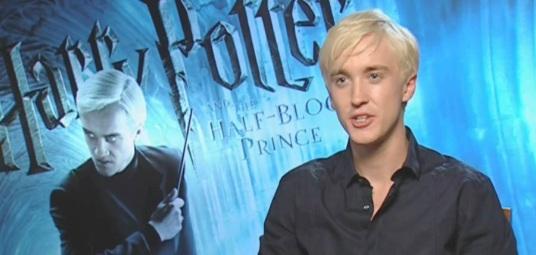22 de Setembro – 1987 – Tom Felton, ator inglês, como Draco, em Harry Potter.