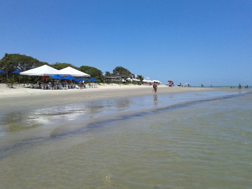 23 de Julho - Praia da Coroa Vermelha — Santa Cruz Cabrália (BA) — 184 Anos em 2017.