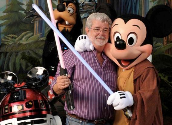 14 de Maio - 1944 – George Lucas, cineasta estadunidense, Disney, Mickey.