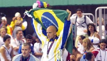6 de Outubro - Fernando Scherer - 1974 – 43 Anos em 2017 - Acontecimentos do Dia - Foto 17 - Fernando Scherer conquistou quatro medalhas de ouro no Pan de Winnipeg-1999.