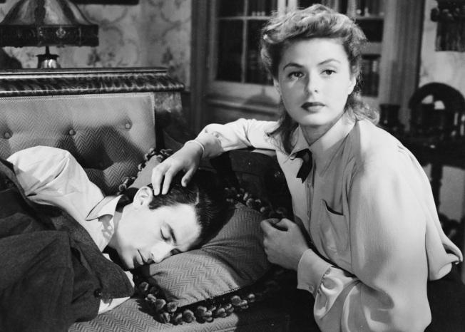 13 de Agosto – Alfred Hitchcock - 1899 – 118 Anos em 2017 - Acontecimentos do Dia - Foto 28 - Spellbound (Quando Fala o Coração - A Casa Encantada) de 1945, com Ingrid Bergman e Gr