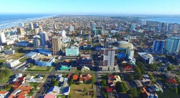 24 de Setembro – Vista panorâmica da cidade — Tramandaí (RS) — 52 Anos em 2017.