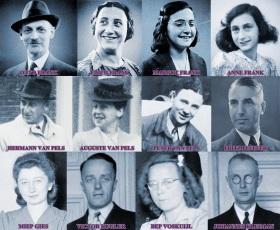 12 de Junho - Família de Anne Frank.