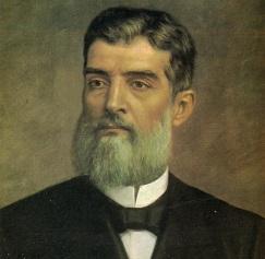 4 de Outubro - 1841 – Prudente de Moraes, presidente do Brasil (m. 1902).