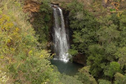 7 de Abril - Patrocínio (MG), cachoeira.