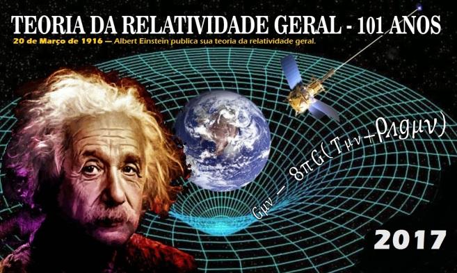 20 de Março de 1916 — Albert Einstein publica sua teoria da relatividade geral.