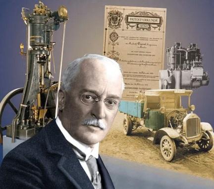 18 de Março - Rudolf Diesel, inventor alemão