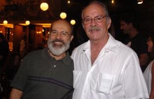 18 de Agosto – Osmar Prado - 1947 – 70 Anos em 2017 - Acontecimentos do Dia - Foto 18 - Osmar Prado e Claudio Marzo.