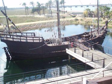 15 de Março - 1493 - Réplica da caravela 'La Niña'.