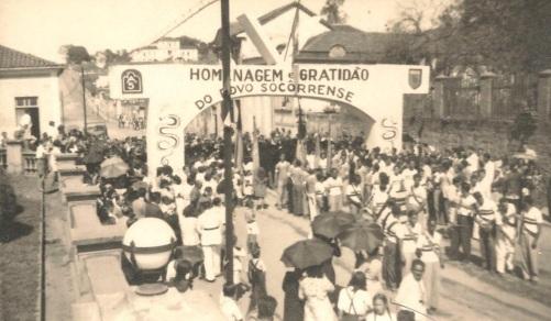 9 de Agosto – Pracinhas chegam a Socorro em 14 de agosto de 1945, no fim da Segunda Guerra Mundial — Socorro (SP) — 188 Anos em 2017.