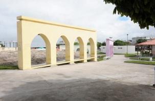 12 de Agosto – Arcos coloridos — Valente (BA) — 59 Anos em 2017.