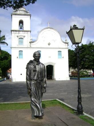 22 de Abril - Monumento Padre Anchieta - Centro histórico de Itanhaém (SP).