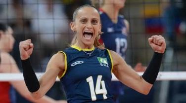 7 de Março - Fabiana de Oliveira - jogadora brasileira de vôlei
