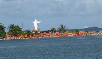 28 de Junho – Cristo visto do mar — Ilhéus (BA) — 483 Anos.