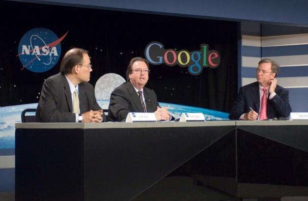 29 de Setembro – 2005 – Google anuncia parceria com a NASA para fins de pesquisa espacial.