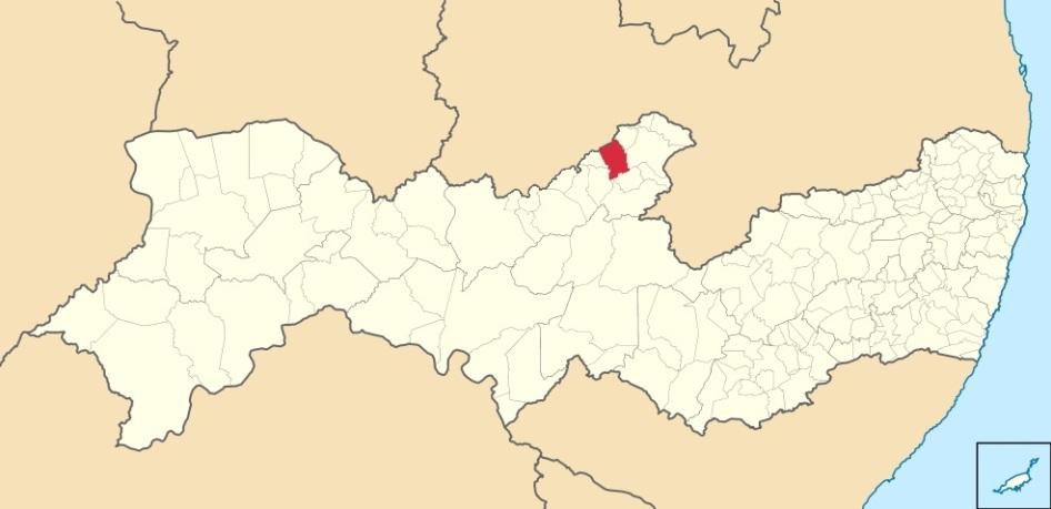 27 de Maio - Localização de Tabira em Pernambuco - 68 Anos.