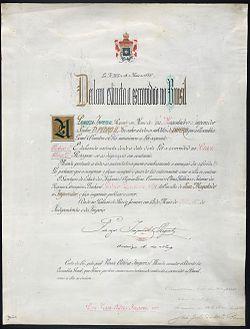 Diploma da Lei Áurea