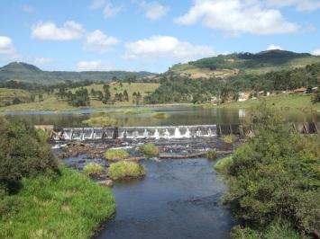 26 de Abril - Timbó Grande - SC - Barragem - Rio Timbó.