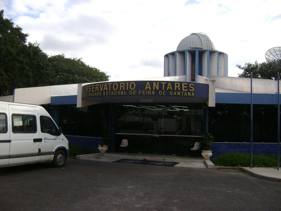 18 de Setembro – Observatório Astronômico Antares, localizado no bairro Jardim Cruzeiro — Feira de Santana (BA) — 184 Anos em 2017.