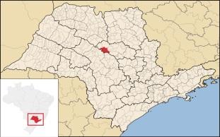 4 de Julho – Mapa de localização — Ibitinga (SP) — 127 Anos em 2017.