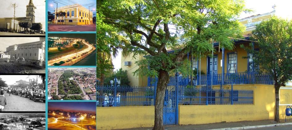 29 de Agosto — Mosaico da cidade — Leme (SP) — 122 Anos em 2017.