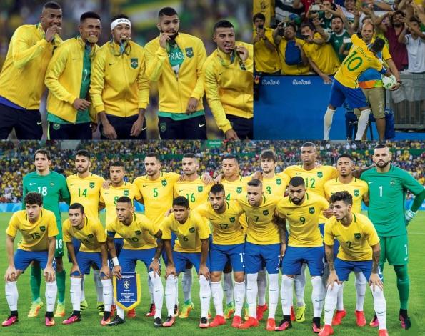 20 de Agosto – 2016 - A Seleção Brasileira Olímpica conquista pela primeira vez a medalha