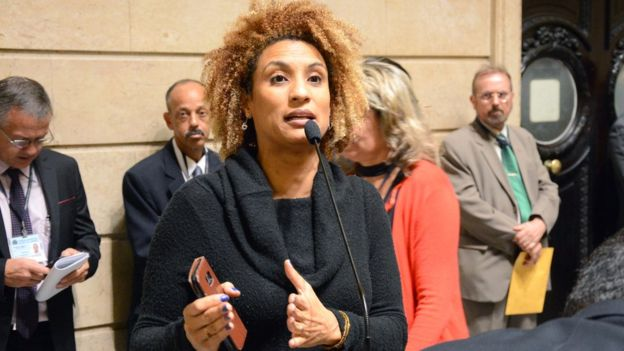 Marielle Franco fala na Câmara do Rio